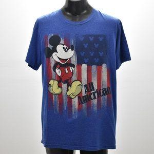 Men's Disney Mickey Mouse Tee Shirt  Size X Large